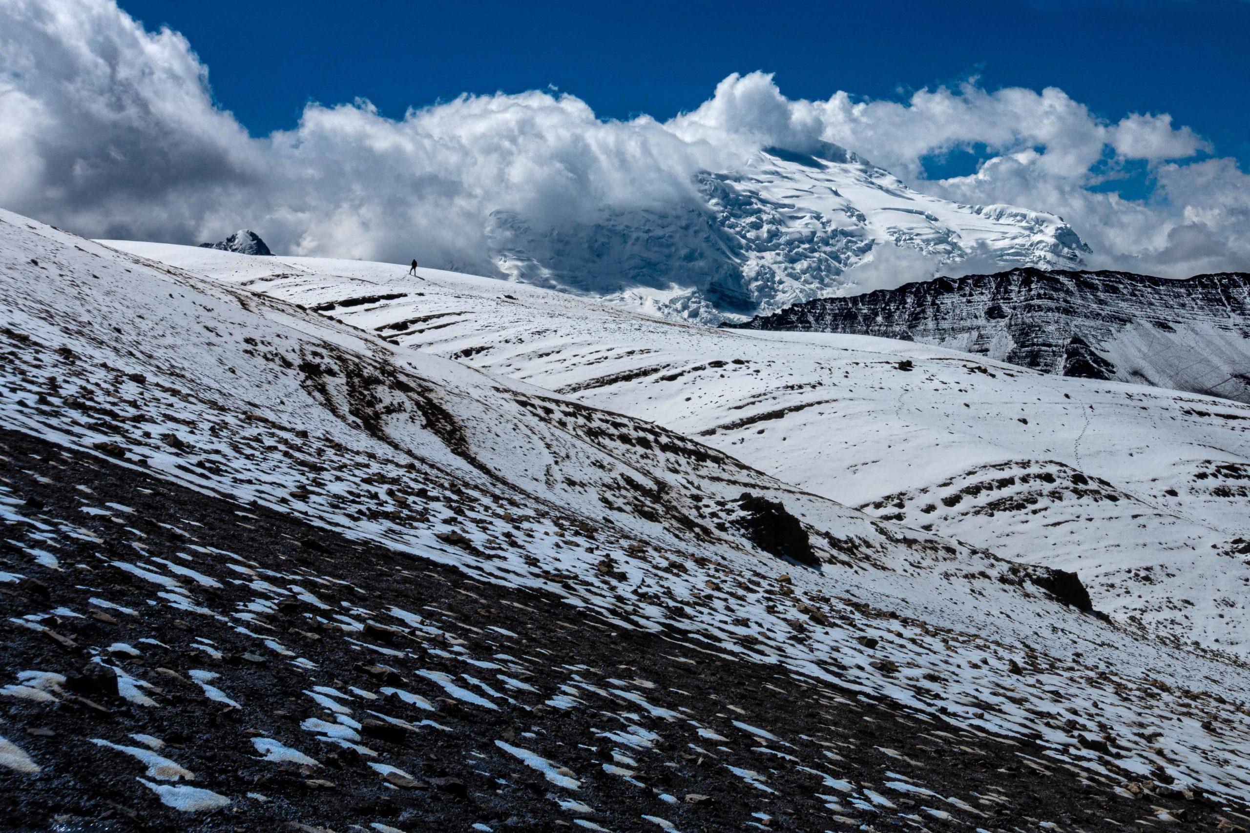 Mayestätische Berge in Peru