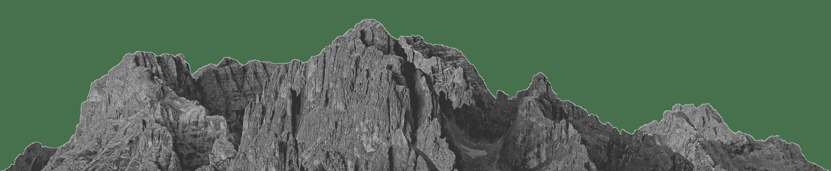 Berge Footer